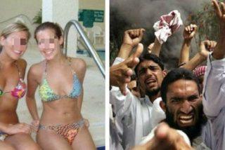 """La turba musulmana asalta una piscina nudista alemana: """"¡Alá es grande, sois putas y os vamos a exterminar!"""""""