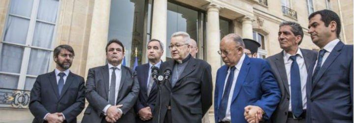 Judíos, musulmanes y cristianos piden a Hollande que refuerce la vigilancia de los lugares de culto