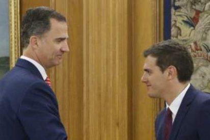 Albert Rivera propone al Rey un gobierno de 'gran coalición'