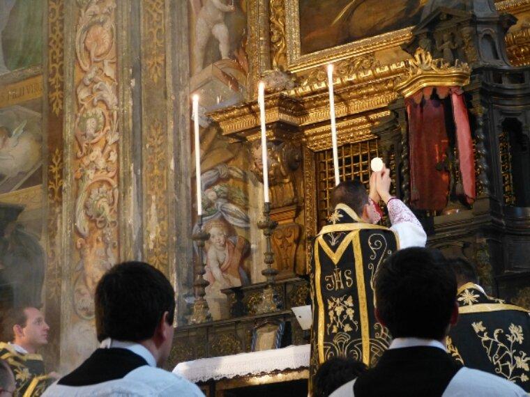 La diócesis de Getafe se ha retrotraído a la liturgia preconciliar