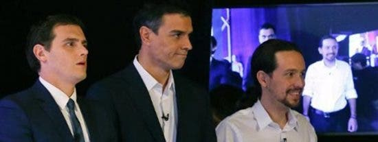 """Ignacio Camacho le da un repaso a Iglesias, Sánchez y Rivera: """"Son unos perdedores contumaces"""""""