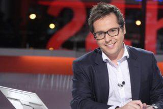 Sergio Martín deja 'La noche en 24 horas' para ser el nuevo presentador de 'Los desayunos de TVE'