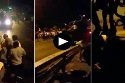 [VÍDEO] El tanque de los golpistas descuartizando a los ciudadanos turcos
