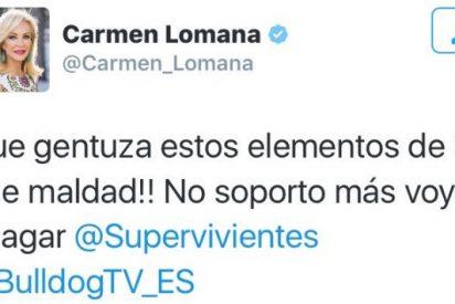 "Carmen Lomana se come a Sandra Barneda en directo:""¡No seas demagoga!"""