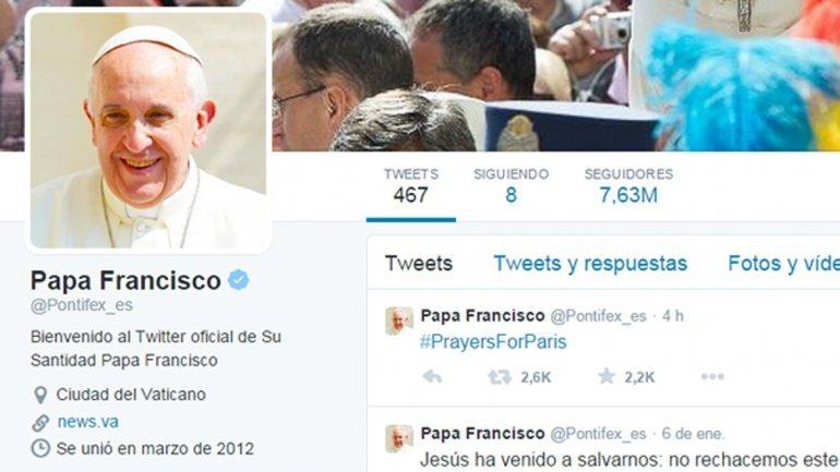 Francisco superó los 30 millones de seguidores en Twitter