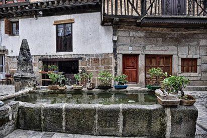 San Martín del Castañar en la Sierra de Francia