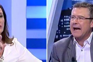 """El españolismo de Puyol monta una buena bronca en 13TV: """"¡Es lamentable! ¡Eres como los independentistas!"""""""