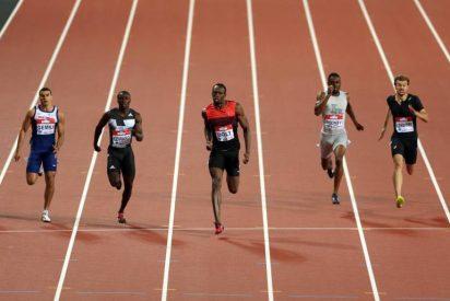Usain Bolt vuela en los 200 metros y Bruno Hortelano pulveriza el récord español