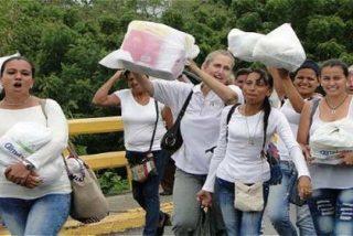 """Las 500 venezolanas que burlan a la Guardia Nacional para comprar comida en Colombia: """"¡Sí, se puede!"""""""