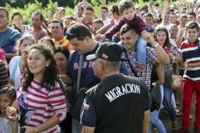 Con estas ganas cruzan la frontera con Colombia 25.000 venezolanos para comprar comida