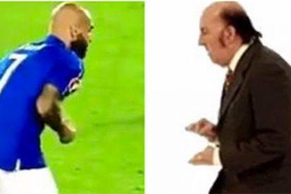El peculiar lanzamiento de penalti de 'Chiquito de la CalZazada' que dio el triunfo a Alemania