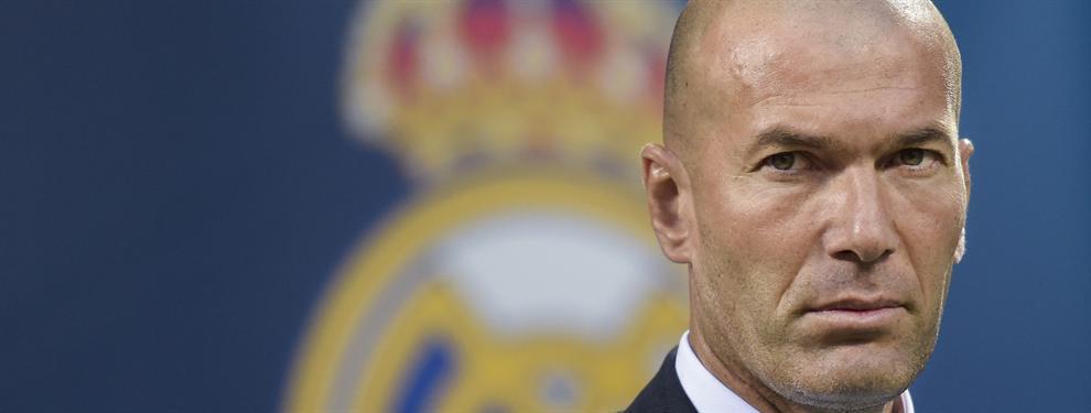 Zidane se carga al primer jugador de la plantilla del Real Madrid