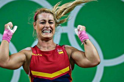 Lydia Valentín gana ocho años después la medalla de plata de los Juegos de Pekín 2008