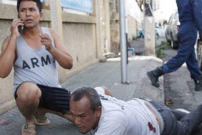 Una docena de turistas extranjeros heridos en la serie de atentados de Tailandia