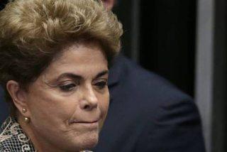 Dilma Rousseff, entre lágrimas:
