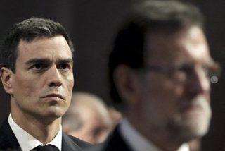 Pedro Sánchez se reúne con Mariano Rajoy con 10 preguntas bajo el brazo y un 'no' a todo
