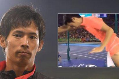 La dolorosa humillación del saltador que derribó el listón con el pene