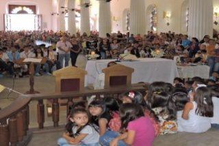 """Monseñor Moronta: """"Tenemos que hacernos como niños porque los niños son la alegría"""""""