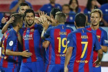 El Barça pasa por encima del Sevilla en la Supercopa de España 2016