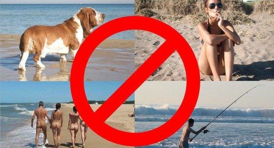 Las 4 cosas que no puedes hacer ya en la playa, si no quieres que te frían a multas