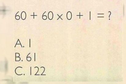 El ejercicio de matemáticas que vuelve locos a miles de usuarios en las redes sociales