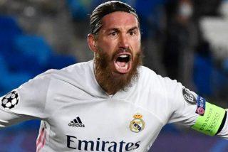Real Madrid: Zidane pierde a Sergio Ramos para dos meses