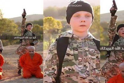 [VÍDEO SIN CENSURA] El niño británico del ISIS convertido en verdugo de Alá con sus angelicales ojos azules