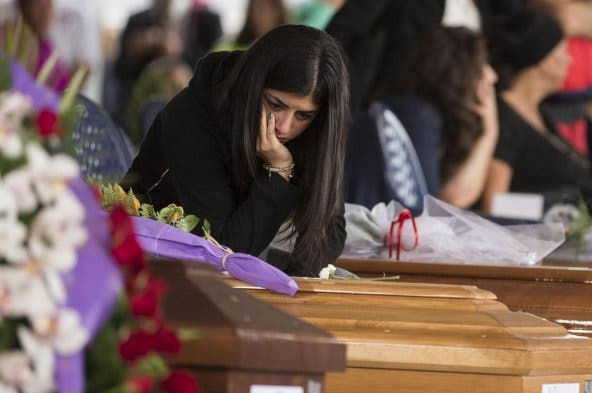 """Monseñor Pompili: """"Celebrar el acto en otro lugar habría sido asesinarlos por segunda vez"""""""