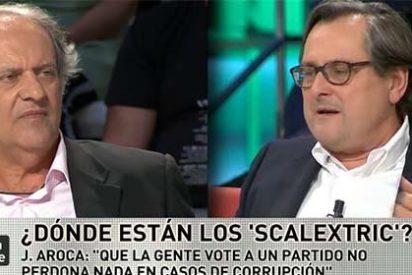 """Paco Marhuenda se cachondea de Javier Aroca por hablar de 'tachas de corrupción' en el PP: """"¿Eso es un término jurídico?"""""""
