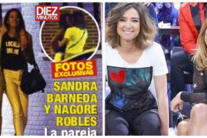 Pillan a Sandra Barneda dándose el lote con Nagore Robles