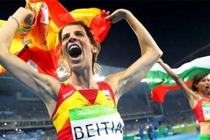 Se agotan los calificativos: Ruth Beitia por fin toca la gloria olímpica a sus 37 años