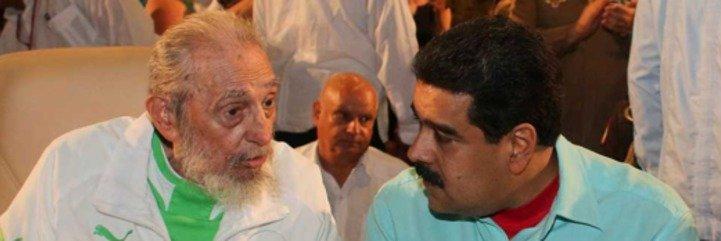 El sinvergüenza de Maduro derrocha 355.000 euros en el 90 cumpleaños de Fidel Castro