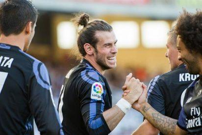 ¡Cara de tonto! El tortazo de un jugador del Real Madrid al Barça