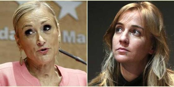 Cristina Cifuentes da un repaso a Tania Sánchez por pasarse de lista en Twitter