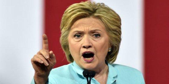 Hillary Clinton, disparada en los sondeos electorales a dos meses de las presidenciales