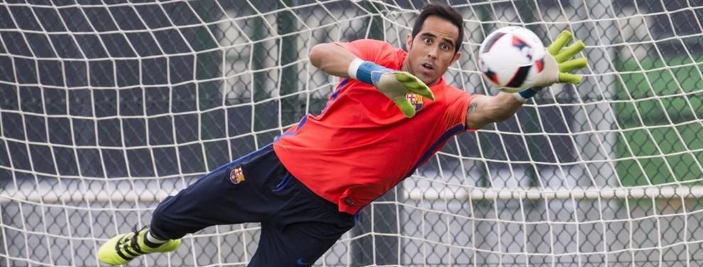 Colocan a otro portero internacional en la agenda del Barça