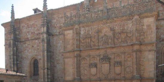 Comienza la restauración de la fachada de la Universidad de Salamanca