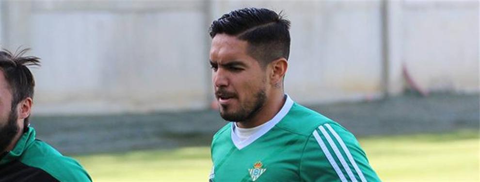 Confidencial: A Vargas le espera un 'drama' a su regreso con el Betis