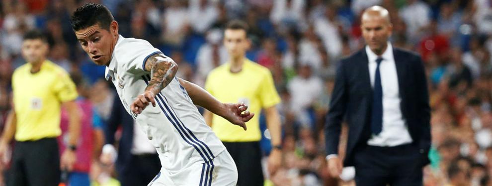 Confidencial: La 'jugada' del Madrid antes de declarar intransferible a James