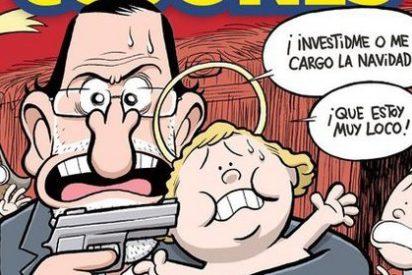 La portada de la revista 'El Jueves' de esta semana es para vomitar
