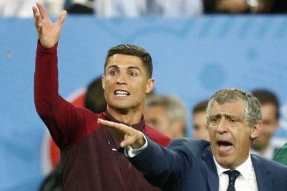 Mourinho acusa a Cristiano Ronaldo de postureo en la final de la Eurocopa