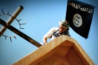 """El ISIS llama a sus lobos solitarios al feroz grito de """"¡Rompe la cruz!"""""""