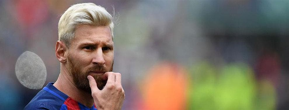 Curiosa iniciativa: Pasteles gratis cuando Messi se quite el rubio de la cabeza