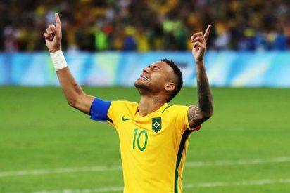 ¡Detallazo de un crack del Real Madrid con Neymar tras ganar el oro en los JJOO!