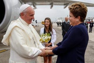 El Papa escribió a Dilma Rousseff tras su suspensión