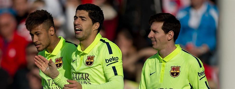 El Barça se aseguró al cuarto delantero que pidió el entrenador