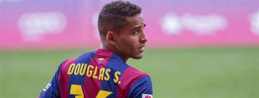 El destino que los aficionados del Barça reclaman para Douglas