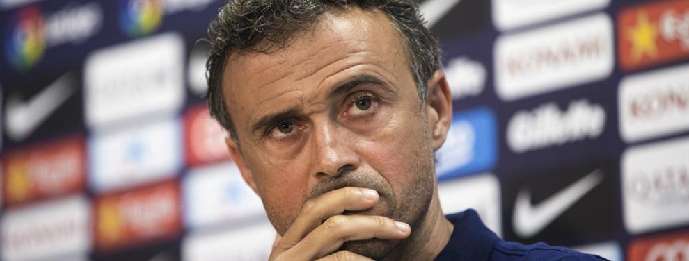 El fichaje del Barça que Luis Enrique hizo saltar por los aires