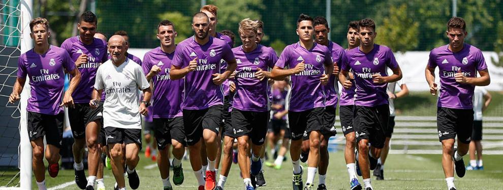 El grande de Europa que deja colgado a un jugador del Real Madrid