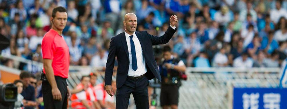 El jugador que causa el mayor 'dolor de cabeza' a Zidane no estaba en Anoeta